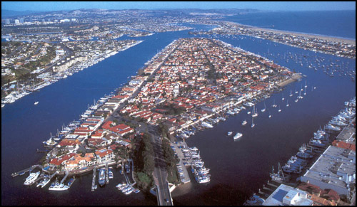 Newport Harbor - Newport Beach California
